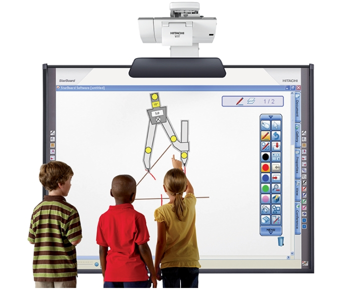 Best interactive smart board touch panel price offers India